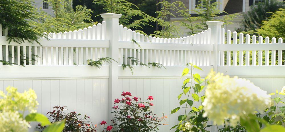 Mr. Fence vinyl fence